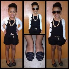 This lil girl is the one who started me on the kids fashion.