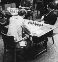 Bobby Fischer plays Tigran Petrosian, Belgrade, 1970.