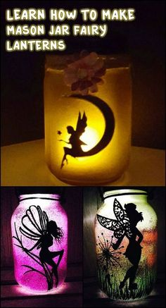 These mason jar fairy lanterns would be great as a night light by the bed side. Learn how to make one by watching the video tutorial on our site now!