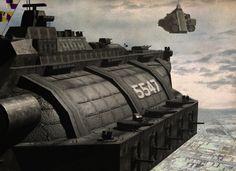 Dieselpunk War Zeppelin