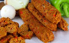 Spicy Seitan Sausages [Vegan] | One Green Planet