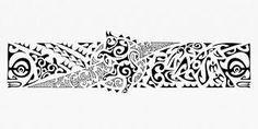 Resultado de imagem para tattoo maori na perna bracelete