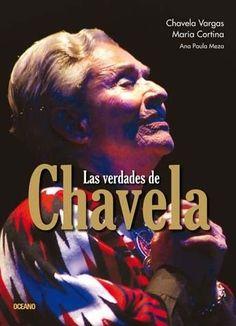 """LAS VERDADES DE CHAVELAAutor: CHAVELA VARGASEditorial: OCEANO DE MEXICO Colección: PARENTESIS MUSICALFormato: RUSTICAPáginas: 192Soy Chavela Vargas, tengo noventa años y estoy viva. Viva de tanto vivir, de tanto amar, de tanto gritar que estoy viva, como la vida, como el color rojo, como los recuerdos rojos que saben a pan."""" Testimonio emocionado y emocionante de una mujer excepcional. Crónica de una existencia marcada a fuego por la pasión, el inconformismo y la rebeldía. Chavela Vargas…"""