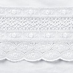 Lace Bedding, Sewing Cabinet, Blackwork Embroidery, Baby Bedding Sets, Crochet Borders, Linens And Lace, Heirloom Sewing, Baby Blanket Crochet, Sewing Techniques