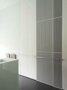 Large tile, extra long TOWEL BAR