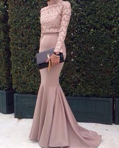 Cheap evening gown dresses, Buy Quality evening dress 2016 directly from China mermaid evening dress Suppliers: Mermaid Evening Dress 2016 High Neck Long Sleeve Women Formal Dress Top Lace Floor Length Turkish Evening Gowns Dresses Muslim Evening Dresses, Hijab Evening Dress, Hijab Dress Party, Mermaid Evening Dresses, Sexy Party Dress, Muslim Prom Dress, Party Gowns, Long Sleeve Evening Gowns, Party Skirt
