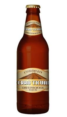 Cervecería Frontera Cerro Ticuan Cerveza Artesanal Cerveza Obscura Estilo Sweet Stout 100% Malta 5.5% Alc. Vol. Tijuana, Baja California, México