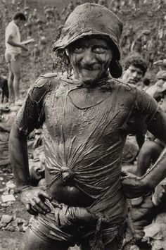Photos of working people, taken by photographer Sebastiao Salgado in different parts of the world.