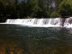 Salto de agua en el río #Torio en la provincia de León.
