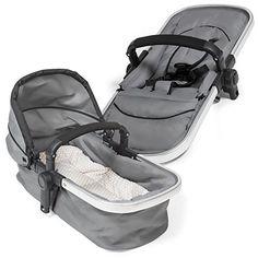 recomendable TecTake 3 en 1 Sillas de paseo coches carritos para bebes convertible gris