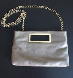b916287daa IMOSHION Silver And Gold Plated Shoulder Purse Evening Clutch EUC - Sale!  Up to 75