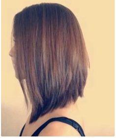 Medium Hair Styles - 25 Inverted Bob Haircuts Bob Hairstyles 2015 - Short Hairstyles for Women Inverted Bob Hairstyles, 2015 Hairstyles, Short Hairstyles For Women, Layered Haircuts, Med Haircuts, Short Haircuts, Everyday Hairstyles, Curly Hairstyles, Trendy Hairstyles