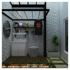 Cool 30 Charming Small Laundry Room Design Ideas For You. Outdoor Laundry Rooms, Tiny Laundry Rooms, Laundry Room Bathroom, Laundry Room Storage, Small Laundry Area, Laundry Rack, Bathroom Small, Home Room Design, Home Interior Design