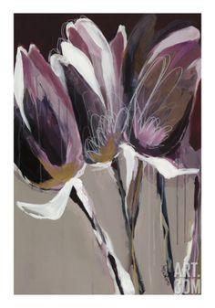 Aubergine Splendor I Art Print by Angela Maritz at Art.com master bath possibility