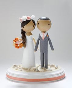 Hey, I found this really awesome Etsy listing at https://www.etsy.com/listing/57508637/custom-wedding-cake-topper-beach-base
