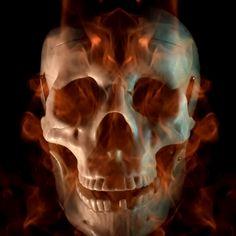 Scary Wallpaper, Wallpaper Pc, Grim Reaper Art, Trap Music, Skull Design, Live Wallpapers, Horror Art, Sculpture Art, Skulls