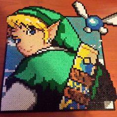 LoZ Link hama perler beads by gema_menethil89