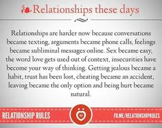Rules in a sex only relationship