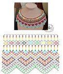 Natali Khovalko's photos Beading Patterns Free, Beading Tutorials, Diy Necklace Patterns, Bead Loom Bracelets, Beaded Collar, Bijoux Diy, Bead Crochet, Loom Beading, Beaded Flowers