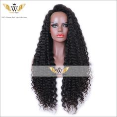 Find More Human Wigs Information about 200 Density Natural Kinky Curly Human Hair Full Lace WIgs Brazilian…