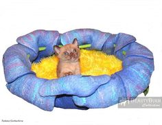 Cat bed  cat cave  houses for cats  eco-friendly by BeautyBurm
