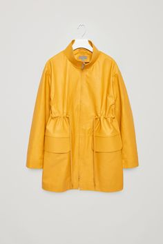COS | Rubberised leather coat