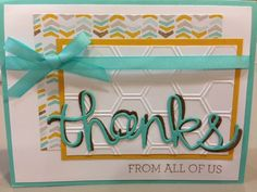 Stampin' Up!, Crazy About You, Hello You thinlits, SAB products