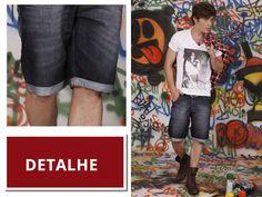 Jeans barra dobrada