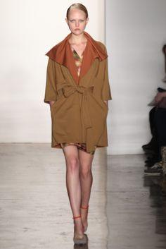 NY Fashion Week- Costello Tagliapietra FAll 2012  ... OBSESSED
