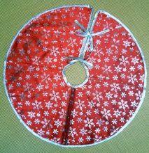 Free shipping Christmas products/Christmas decorations, Christmas tree skirts/ high-grade pleuche snow tree skirt Supplies(China (Mainland))
