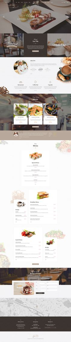 Catering Restaurant & Cafe PSD Template - Download theme here : http://themeforest.net/item/catering-restaurant-cafe-psd-template/12243238?ref=pxcr
