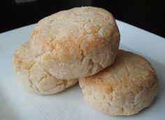 Amazing Gluten Free, Dairy Free Baking Powder Biscuits (great crust, shape-able yet moist, holds together well, good flavor, and can also be used as sandwich rolls!) Perfect!