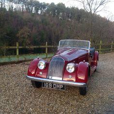 1954 Morgan +4 four seater