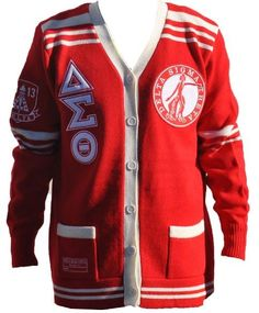 1000 images about sisterhood scholarship and service on - Delta sigma theta sorority cardigans ...