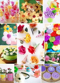 Flower Birthday Party
