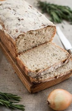 Well it was for the bread! / Cooks, because he likes gorgeous recipe for sourdough bread Bread Recipes, Baking Recipes, Our Daily Bread, Polish Recipes, Sourdough Bread, How To Make Bread, Recipes From Heaven, Health And Nutrition, Baked Goods