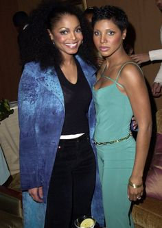 Janet Jackson and Toni Braxton