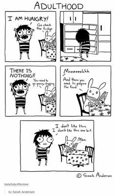 Adulthood sucks #funny
