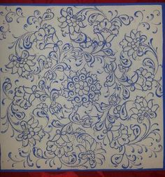 Islamic Art Pattern, Pattern Art, Illumination Art, Blue And White Fabric, Pottery Techniques, Embroidery Patterns, Gold Embroidery, Mandala Coloring Pages, China Painting