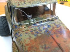 Putting Bullet Holes in Model Car Windows