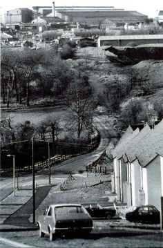 Round Oak Steel Works, from Lodge Hill Rd, by Netherton Reservoir Local History, Family History, West Midlands, Black N White, The Other Side, Old Pictures, Birmingham, Places Ive Been, England