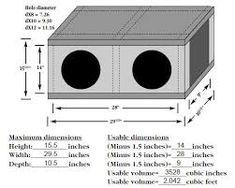 Résultats de recherche d'images pour « subwoofer box design for 12 inch Diy Subwoofer, Subwoofer Box Design, Car Speaker Box, Car Stuff, Audio, Technology, Google, Boxes, Log Projects