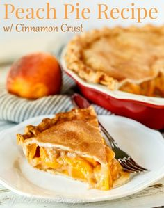 Fresh Peach Pie Reci