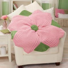 Herrschners® Spring Blossom Blanket Crochet Afghan Kit Was: $27.99                     Now: $19.99