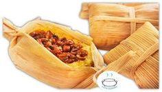 Receta de Tamal #Receta de Tamal #Tamal #Platos Argentinos Empanadas, Salsa Picante, Carne Picada, Corn Recipes, Garlic, Vegetables, Food, Pastel, Diy
