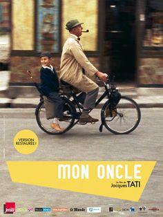 Mon oncle un film français réalisé par Jacques Tatis, sorti en 1958