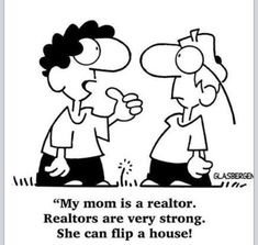 Cute Realtor cartoon!