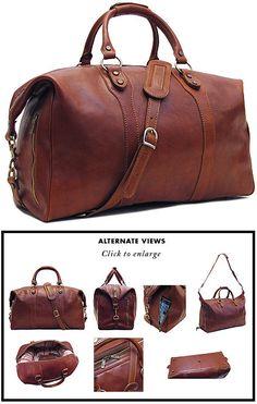 Floto Roma Leather Travel Bag