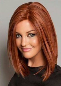 Top Quality Classical LOB Haircut Natural Straight Medium Synthetic Hair Capless Wigs 18 Inches Lob Haircut Capless Classical Hair haircut Inches Lob medium Natural Quality Straight Synthetic Top WigsBest Picture For hair styles videos For Your Tas Messy Bob Hairstyles, Medium Bob Hairstyles, Straight Hairstyles, Haircut Medium, Bandana Hairstyles, Hairstyles 2018, Summer Hairstyles, Trendy Hairstyles, Line Bob Haircut