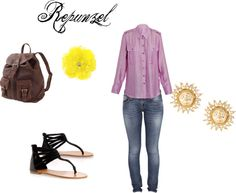 """""""Repunzel hipster"""" by lillyred on Polyvore"""